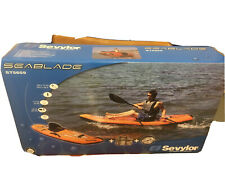 Sevylor Seablade One Person Sit On Top Kayak(unopened)+paddles Collapsible(used)