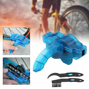 Bicycle Chain Wheel Cleaning Brushes MTB Bike Wash Scrubber Cleaner Tool Kit UK
