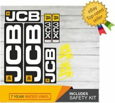 JCB 3cx Decal Sticker Set
