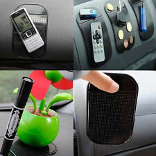 Black Car Anti/Non-Slip Glass Dash Mat Pad For iPhone 4G 4S iPod Brand New