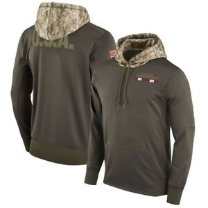 Arizona Cardinals Men's NIKE 2017 Salute to Service Therma-FIT PO Hoodie,  L&2XL