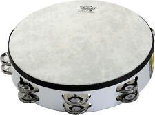 Remo Fixed-Head Tambourine Black 10 in.