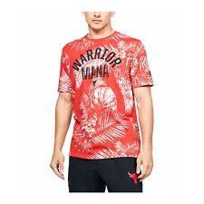 Under Armour Men's T-shirt Project Rock Aloha Camo Short Sleeve 1351585-608