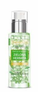 Bielenda Green Tea ESSENCE GEL-PEARLS - less visible pores, radiant, moisturized