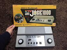VIDEO MATE TV JACK 1000  VINTAGE VIDEO GAME  JAPAN