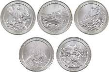 2012 D National Park Quarter 5 Coin Set Uncirculated Mint State 25c Collectible