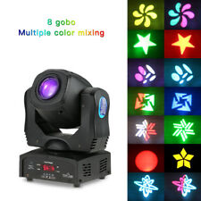 2Pcs Tomshine 80W 8Colors Gobos Dmx Moving Head Stage Lighting Dj Party Light