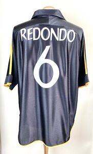 REAL MADRID 1999 ADIDAS SHIRT REDONDO No.6 NO SPONSOR