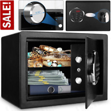 Big Size Digital Home Jewelry Cash Security Safe Box Electronic Steel with Keys
