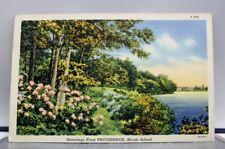 Rhode Island RI Providence Postcard Old Vintage Card View Standard Souvenir Post