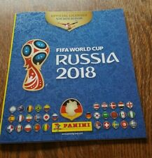 Panini WM 2018 Leeralbum Album World Cup WC 18 Russland Russia FIFA