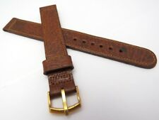 NEET,WW2,14mm,R,40's,Military,Congnac Pigskin US MADE,MEN'S WATCH BAND,B14-03