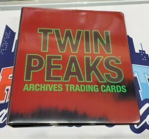 2019 Rittenhouse Twin Peaks Archives Official Binder + P2 Promo