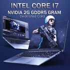 Intel Core i7 Laptop Up to 16G 512G 1TB Dedicated Card Nvidia MX130 Gaming PC
