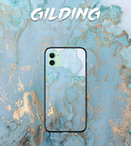 For Google Pixel 5/4a/2/3/3a/4 XL Case Soft Silicone Cover Blue Marble Print