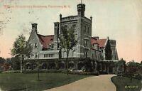 Postcard William Rockefeller's Residence Tarrytown New York