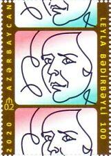 Azerbaijan Stamps 2020 100th ANN. OF PROMINENT AZERBAIJANI ACTRESS L. BADIRBEYLI