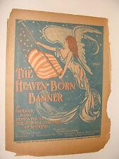 1906 The Heaven Born Banner Chicago Sunday American Newspaper Bryan, Hoffman