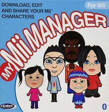 MY Mii MANAGER PC SOFTWARE TO EDIT NINTENDO Wii CHARACTERS DATEL PT. # DUS0232