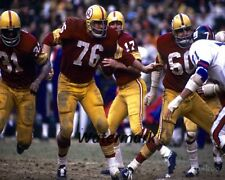 1971  NFL Washington Redskins vs New York Giants Color 8 X 10 Photo Free Ship