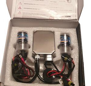 Kit Xenon H1 Ampoule 6000k BALLAST 35W Feux HID Voiture et Moto