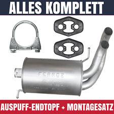 Auspuff Schalldämpferset für Ford Galaxy 1 I 1.9 TDI 1896ccm 85KW Kpl
