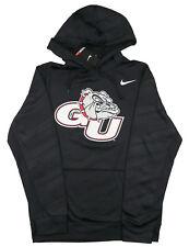 Nike Gonzaga Bulldogs Logo Estampado Sudadera Con Capucha Sz S Small Negro