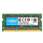 Crucial 8GB 1600MHz DDR3 Sodimm 204-Pin Laptop CT102464BF160B CL11 1.35V 2Rx8