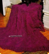 QUICK KNIT RUG / THROW - Jet - COPY Afghan knitting pattern