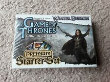 A Game of Thrones Winter Edition Starter Deck NEW Trading Card Game TCG