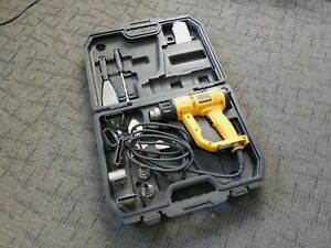 DEWALT Heavy Duty Heat Gun w/ LCD Display & Kitbox D26960K