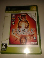 * Original Xbox Classic Game *  FABLE THE LOST CHAPTERS * X Box