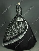 Victorian Renaissance Princess Brocade Prom Gown Steampunk Period Clothing N 164