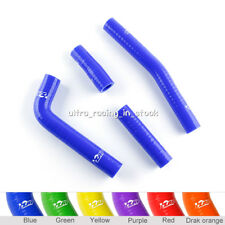 Blue For YAMAHA YZ426F 2000 2001 2002 Silicone Radiator Coolant 3-ply Hose 4pcs