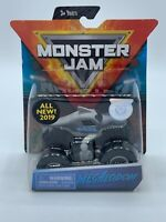 2019 NEW  SPIN MASTER Monster Jam TRUCKS MEGALODON Overcast 1/64 Scale Toy Gift