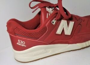 New Balance M530AAF Mens Suede  Sneakers Red Color US Size 11.5D