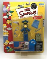 New Playmates Toys The Simpsons Officer Marge Intellitronic Series 7 Figure