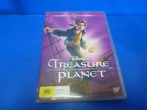 Treasure Planet DVD Disney R4 Free Postage