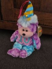 BEANIE KIDS....PARTY TIME the 10th ANNIVERSARY  bear....BK-... with gold tag!