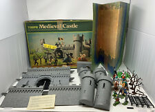 Vintage Timpo Toys Medieval Castle Playset In Box Partially Complete!