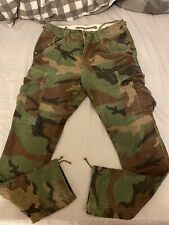 Polo Ralph Lauren Camo Cargo Pants Size 30 Length 32