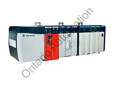 Complete Allen Bradley Controllogix 10 Slot Chassis Loaded Plc With 1756 L62