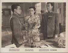 Back to Bataan R1950 8x10 black & white movie photo #107