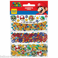 Super Mario Bros & Friends Children's Party Confetti Table Sprinkles Triple Pack