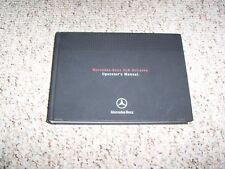 2006 Mercedes Benz SLR McLaren Owners Owner's Operator's Manual 5.4L V8