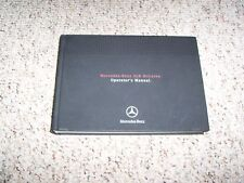 2005 Mercedes Benz SLR McLaren Owners Owner's Operator's Manual Book