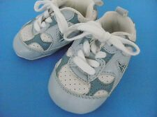 The Children's Place Infant BABY Light Blue SNEAKERS Crib Shoes~Size 6-12 month~
