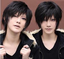 promotion DuRaRaRa Orihara Izaya black short cosplay wig free Track No + wig cap