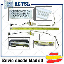 CABLE de VIDEO LED FLEX para HP COMPAQ PRESARIO CQ61 Fox3asd215 Fox3bsd165