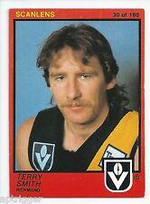 1982 Scanlens (30) Terry SMITH Richmond